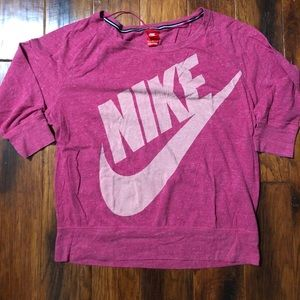 Nike pullover top 3/4 sleeve xl